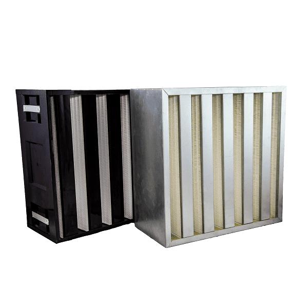 FPHV MINI PLEAT proveedor de filtros y mallas industriales Macrofilter